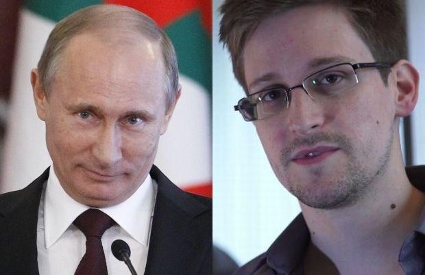 Snowden krijgt asiel van Poetin