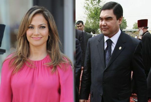 Jennifer Lopez treedt op voor repressieve president van Turkmenistan