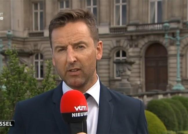 """Vtm-journalist: """"Hij was erg ontroerd na de speech"""""""