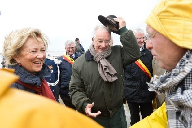 """""""Albert II oogde vermoeid bij laatste officieel bezoek"""""""