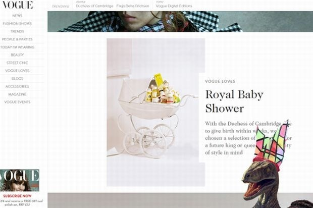 Website Vogue gehackt door dinosaurus: Test het zelf