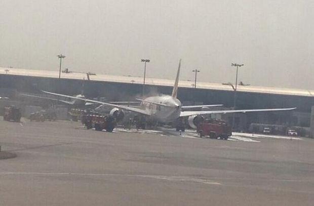 Luchthaven Heathrow even gesloten door brandend vliegtuig