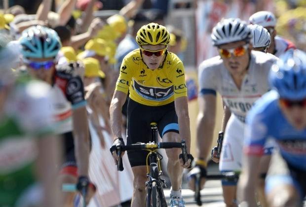 """Chris Froome: """"Mollema en Contador in de gaten houden"""""""