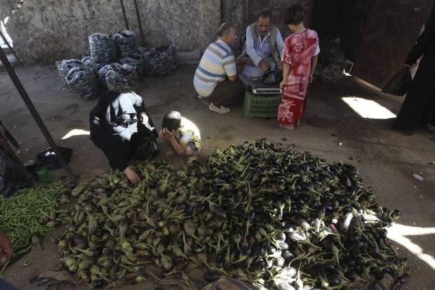 Hongersnood dreigt in Syrische stad Aleppo