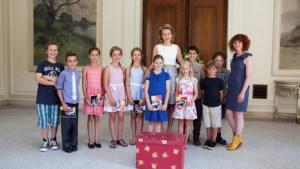 Ketnet op bezoek bij koningin Mathilde