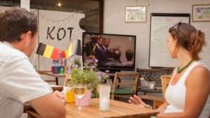 Vlamingen volgen troonswissel massaal op televisie