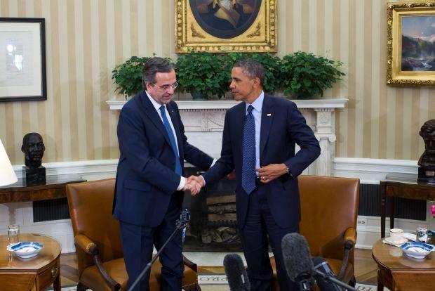 Obama wil naast besparingen ook groeipolitiek voor Griekenland