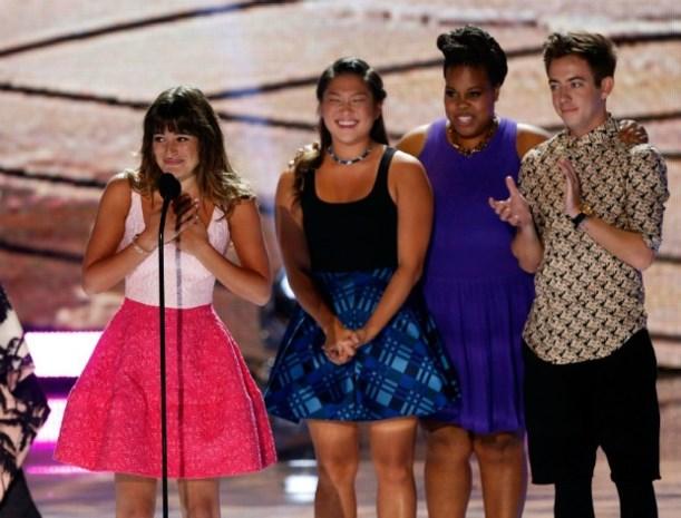 Lea Michele draagt award op aan overleden vriendje Cory Monteith