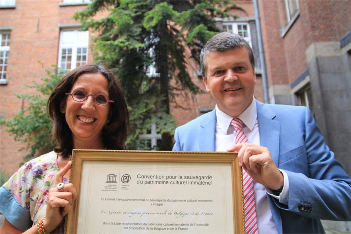 Unesco eert Mechelse Ommegangsreuzen