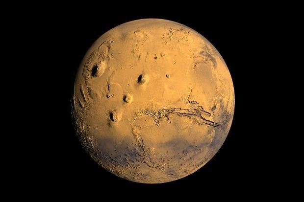 Blik op de ruimte: Leven begon op Mars