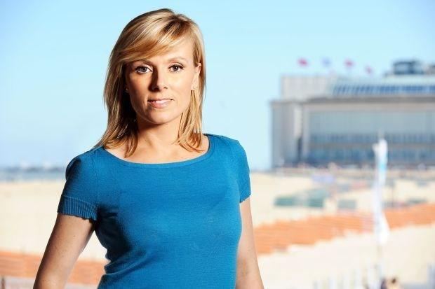 Catherine Moerkerke zegt 'VTM Nieuws' even vaarwel
