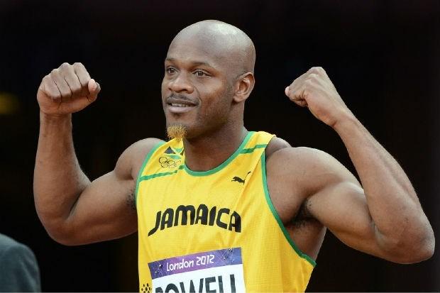 Ook B-staal Asafa Powell positief voor doping