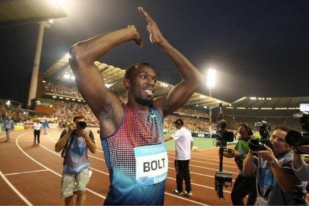 Usain Bolt wint 100 meter op de Memorial met 9.80