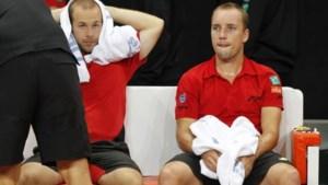 Belgen na vijfsetter onderuit in dubbelspel op Davis Cup