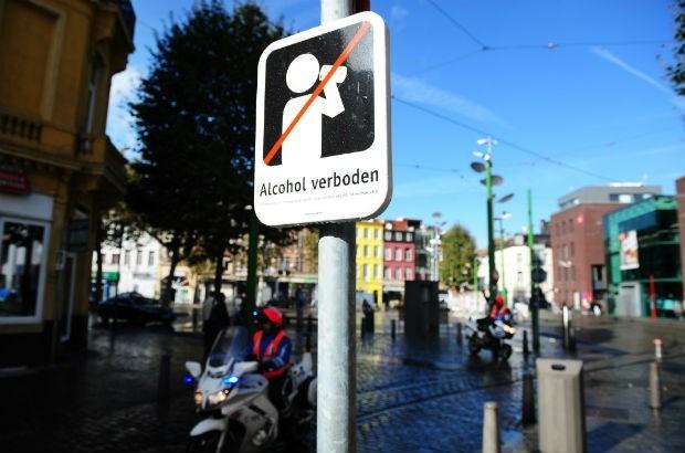 Meeste dronkaards worden van Antwerpse straten geplukt