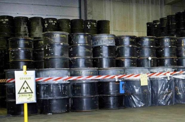 Verdacht lek van radioactief afval in Dessel