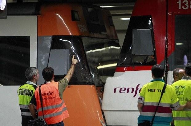12 gewonden bij treinongeval in Barcelona