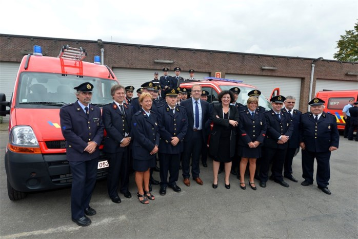 Brandweerkorps beleeft hoogdag
