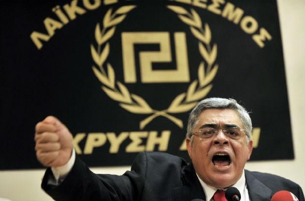 Partijleider Gouden Dageraad opgepakt in Griekenland
