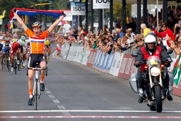 Mathieu van der Poel pakt goud bij de junioren