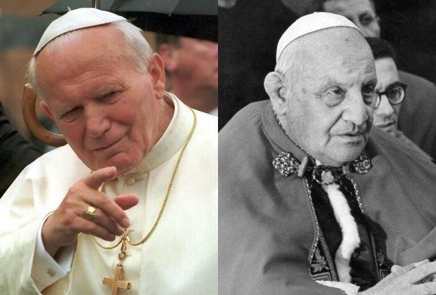 Paus Johannes Paulus II in april heilig verklaard