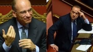 Berlusconi steunt regering-Letta dan toch