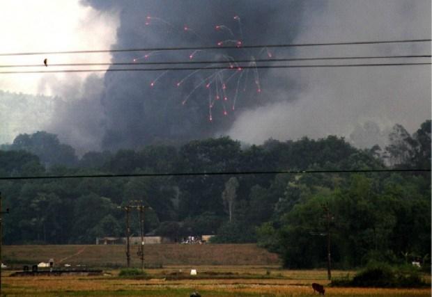Twintig doden bij ontploffing vuurwerkfabriek in Vietnam