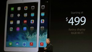 Apple onthult iPad Air
