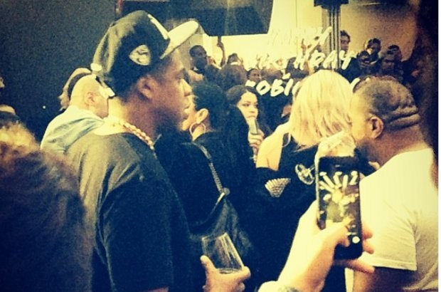 Jay Z feest in Antwerpse discotheek
