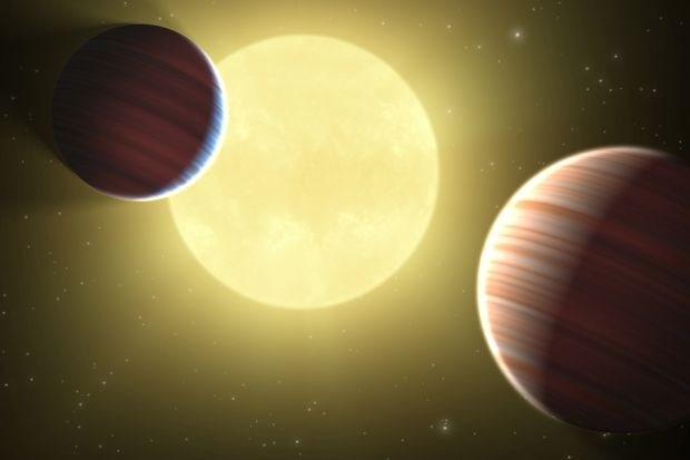 Blik op de ruimte: 1.000  planeten