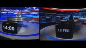 VTM ontsteld over Georgische kopie van 'Het Nieuws' (video)