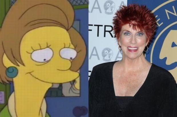 Gepensioneerde Edna Krabappel verdwijnt volgend jaar uit 'The Simpsons'