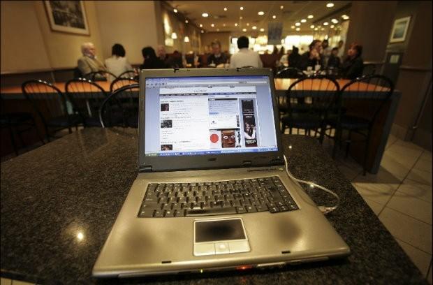 Koffiebars en café's zijn geen ideale werkplekken