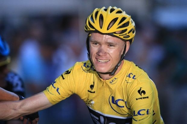 Chris Froome wint Vélo d'Or