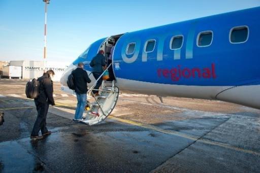 Bmi regional stopt vluchten van Antwerpen naar Manchester