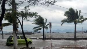 Haiyan afgezwakt aan land in Vietnam