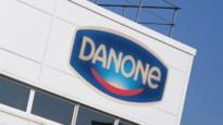 Staking bij productieafdeling Danone in Rotselaar