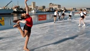 Vanaf woensdag weer schaatsen op badboot