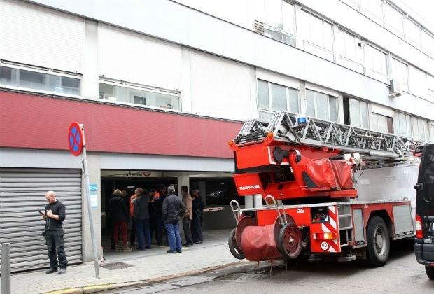 Gebouw in diamantwijk even ontruimd na brand in parking