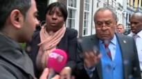 Angolese diplomaat slaat Nederlandse journalist op zijn gezicht (video)