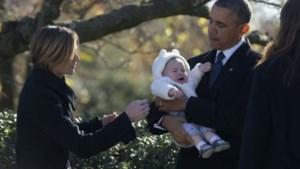 Jongste Kennedy houdt het niet droog bij Obama