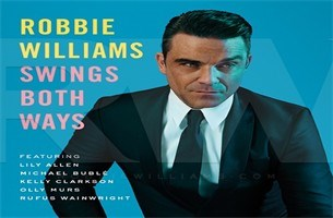 CD: Robbie Williams -Swings both ways (**)