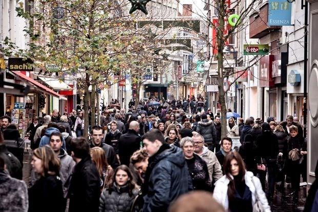 Mensen kopen al massaal kerstcadeaus