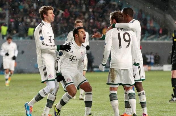 Sterk Bayern München wint in ijskoud Moskou