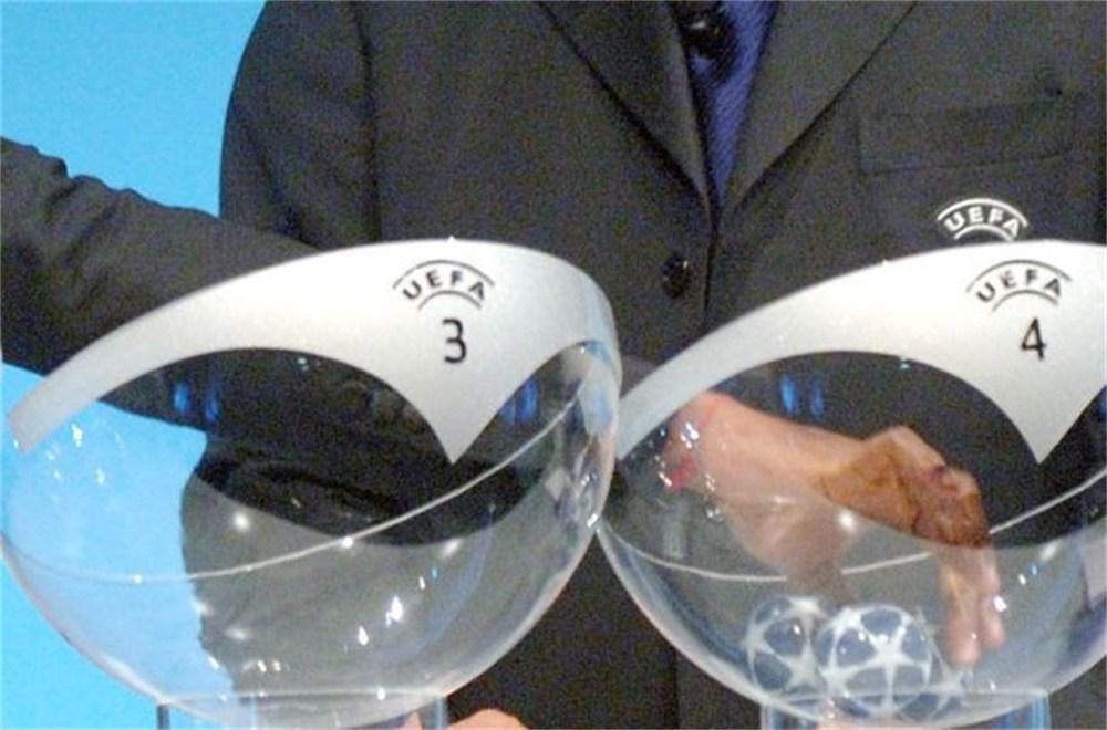 Champions League Loting Picture: Gazet Van Antwerpen