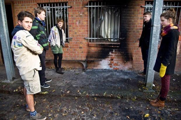 Vandalen slaan opnieuw toe aan scoutslokaal Sint Michiel