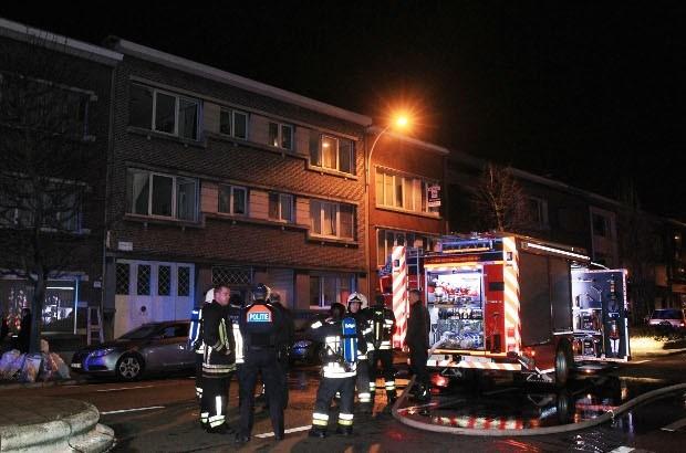 Zes mensen naar ziekenhuis na korte brand