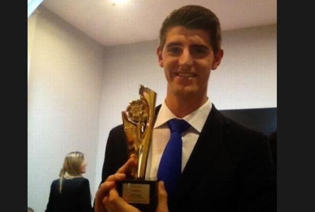 Courtois is beste keeper van het jaar in Spanje