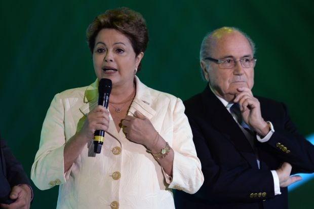 """Braziliaanse presidente: """"Dit wordt het WK der WK's"""""""
