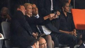 Ook Obama heeft de 'selfie' ontdekt